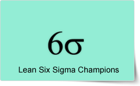 Lean Six Sigma Management Champions Training Course
