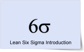 Lean Six Sigma Introduction Training Course