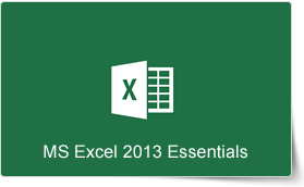 Microsoft Excel 2013 Essentials Training Course