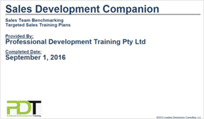 LDP Sales Development Companion