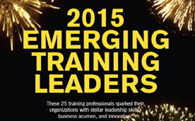 2015 Emerging Training Leaders