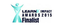 LearnX Impact Awards 2014 Finalist logo