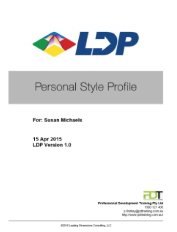 Personal Style Profile